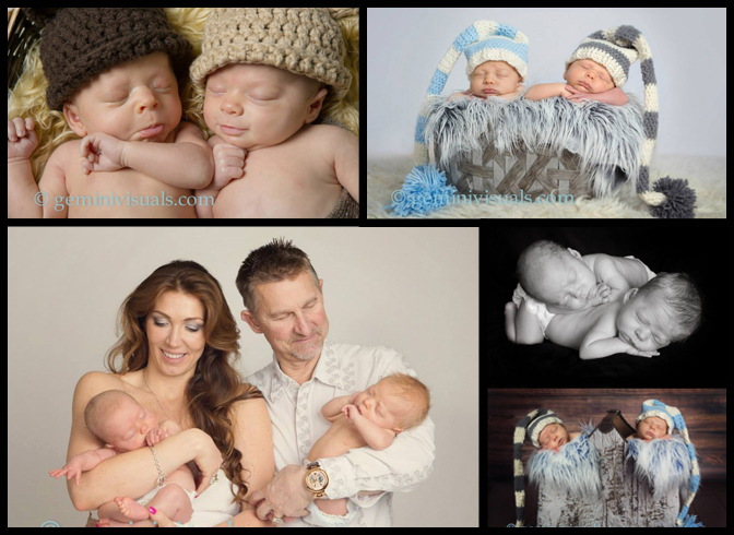 The twins' newborn session!