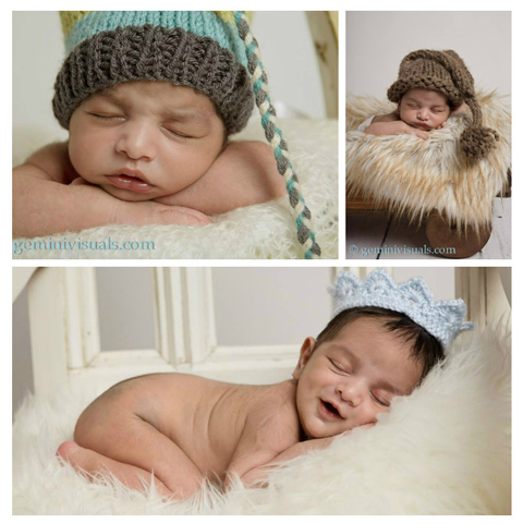 Newborn Photography Cutie Hat Crown Baby