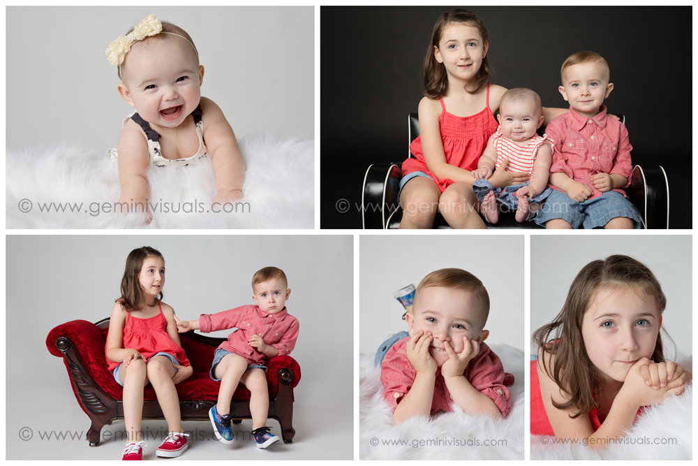 Happy Siblings Photo Shoot