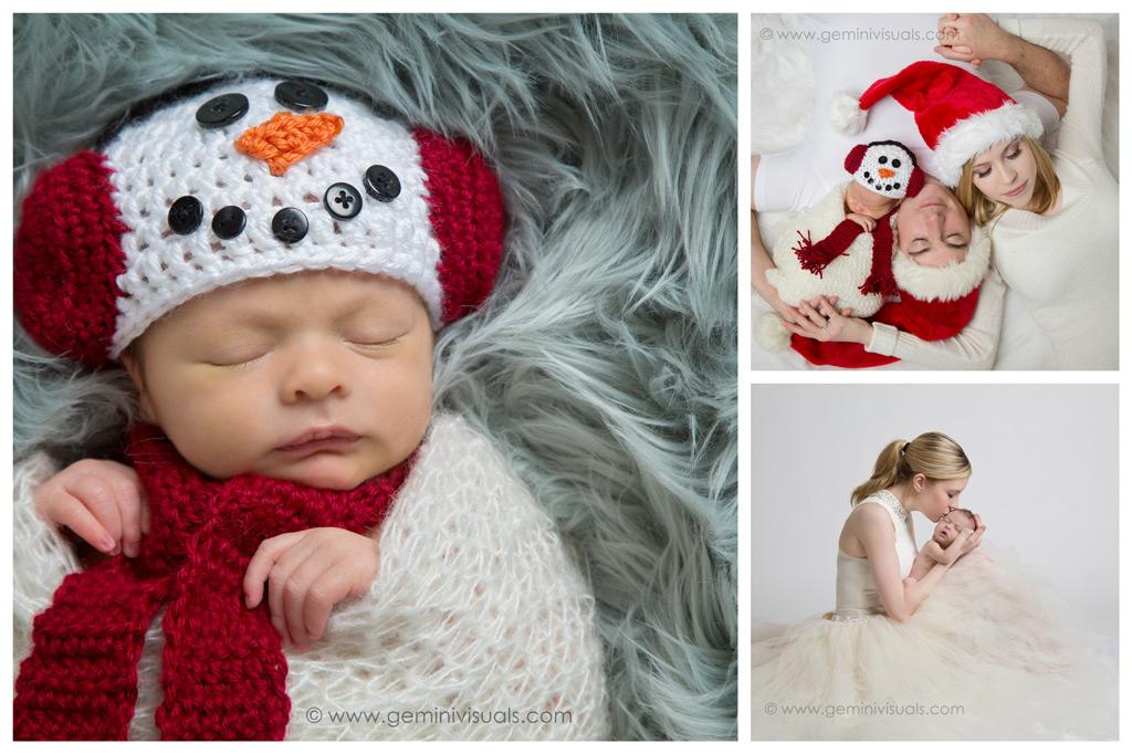Snowman Newborn Outfit