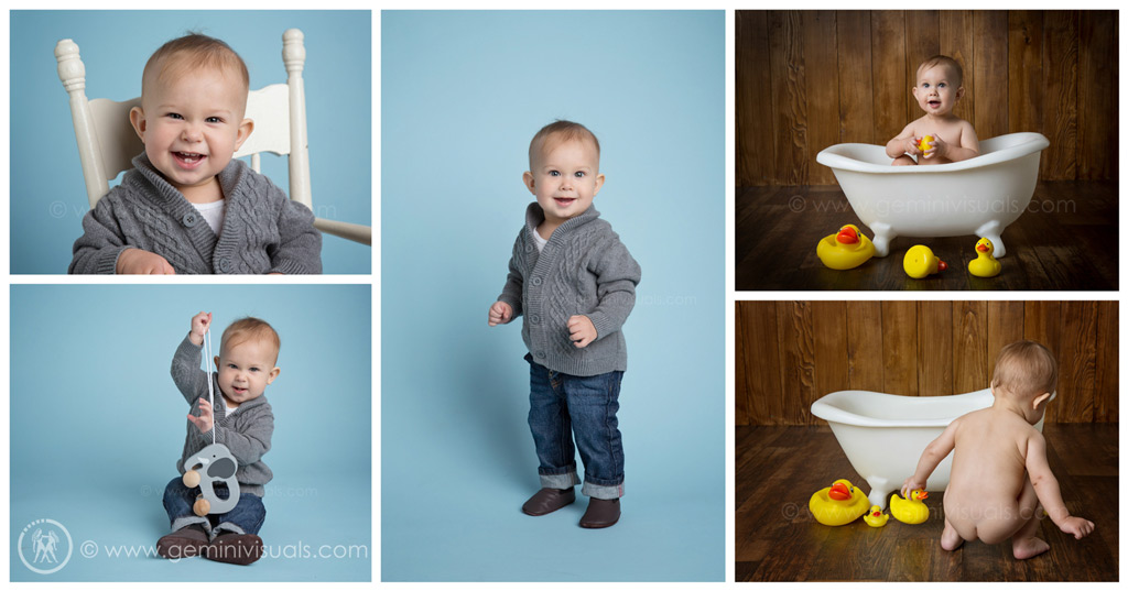 rubber ducky and tub baby photography white rock