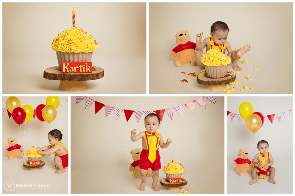 Winnie the Pooh Cake Smash Session in White Rock