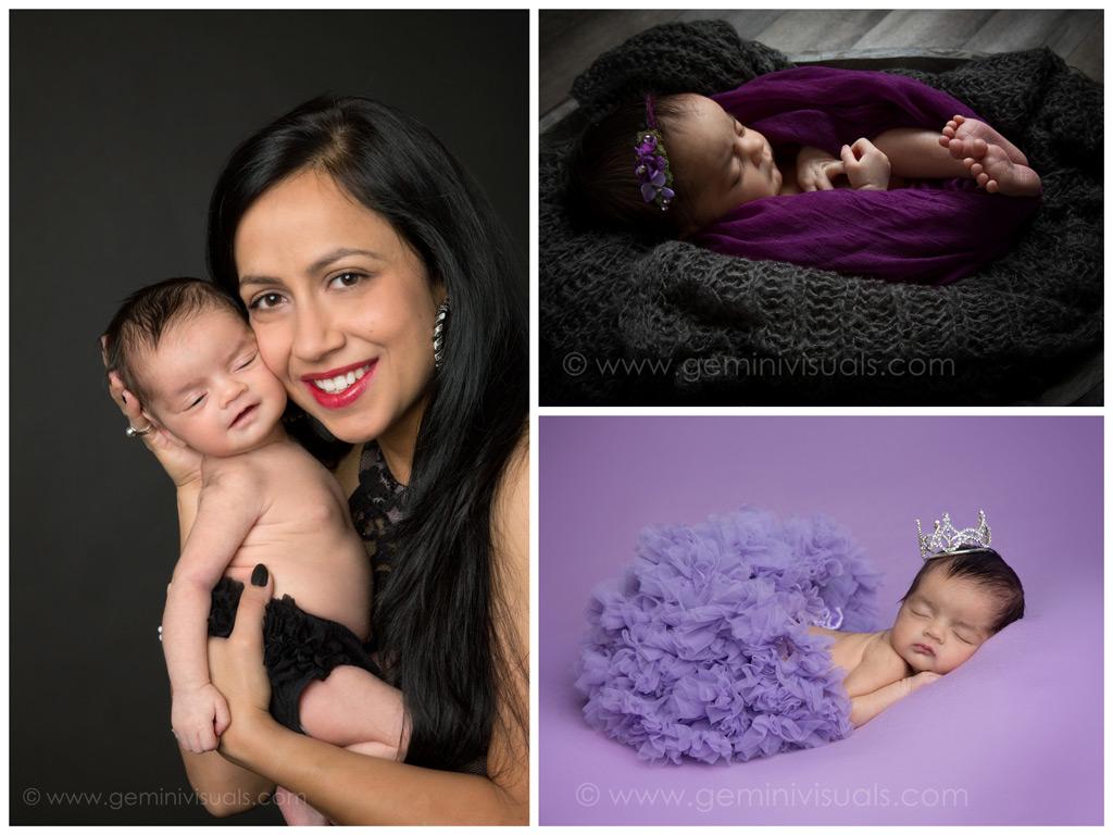 newbornn baby photography by gemini visuals