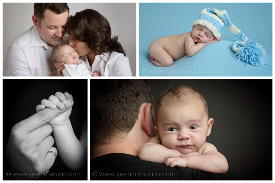 Newborh photographs baby boy  by gemini visuals creative photography