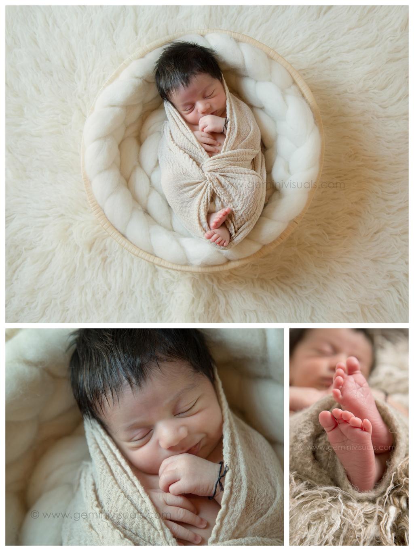 newborn photography by gemini visuals white rock