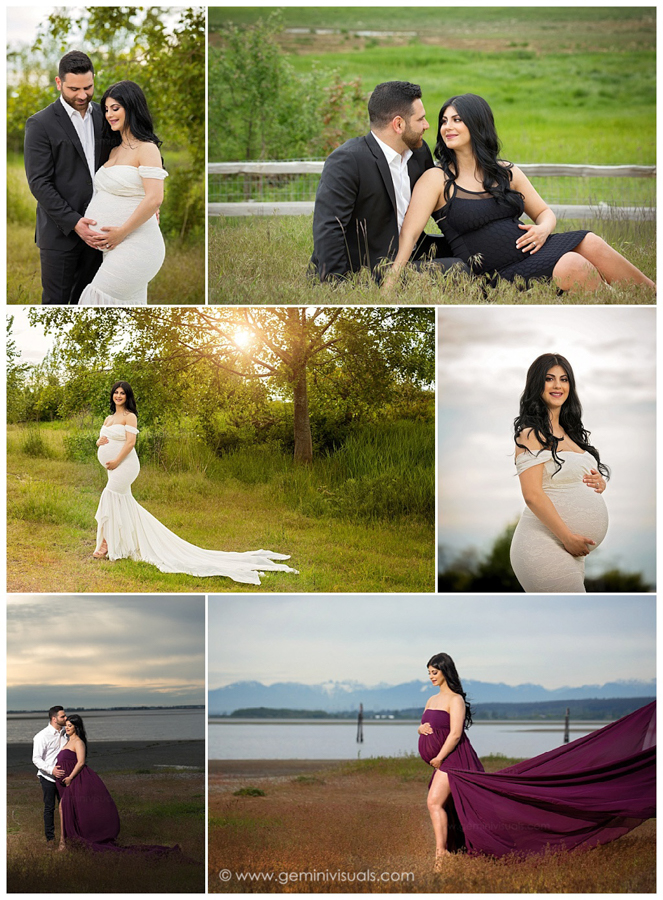 outdoor pictures for pregnancy in south surrey bc