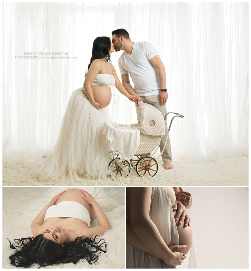 pregnancy pictures with carriage