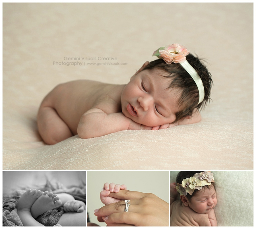 newborn baby girl photos by professional photographer in vancouver