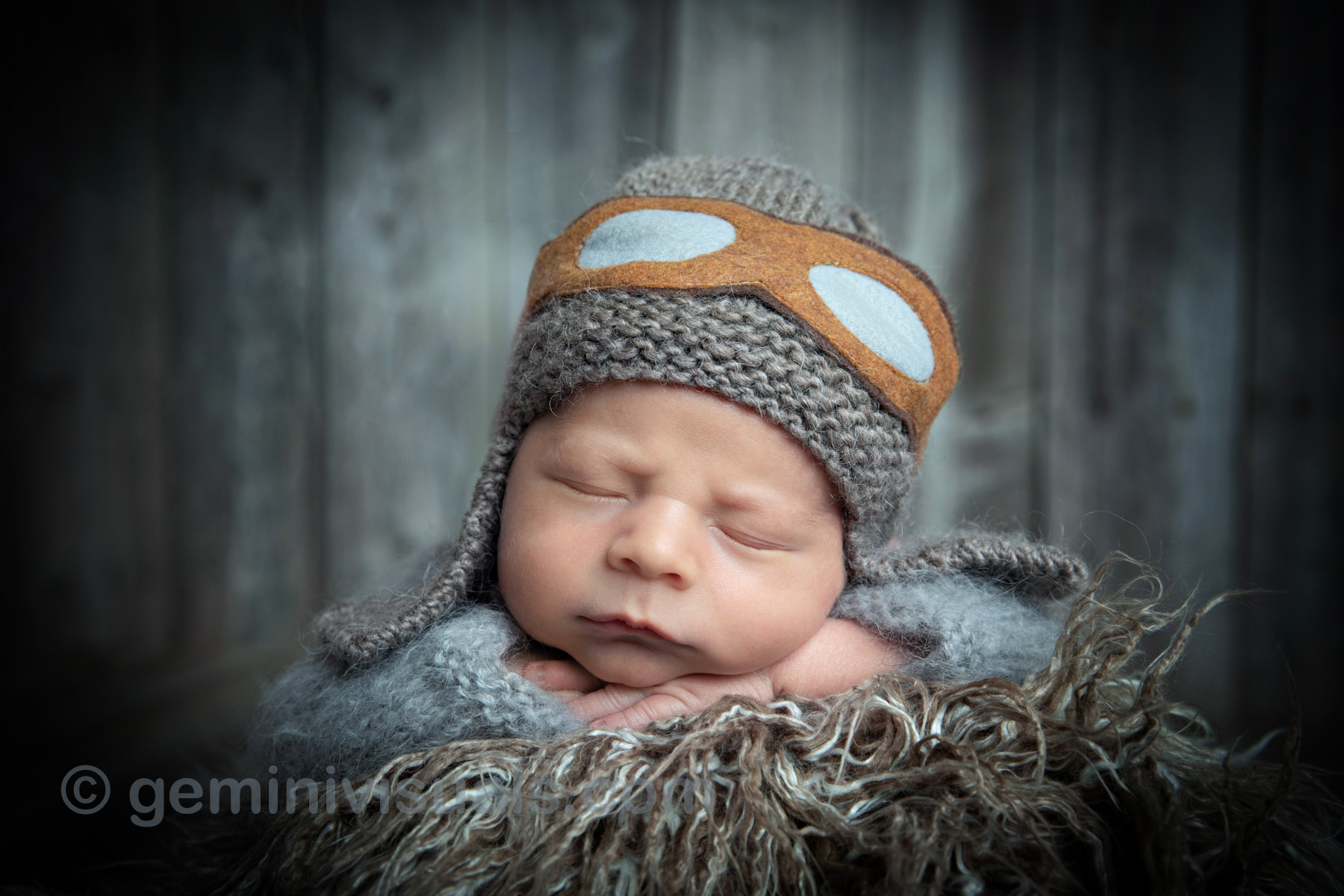goodnight baby by nook, gemini visuals, newborn photography, newborn photos, canadian newborn photographer