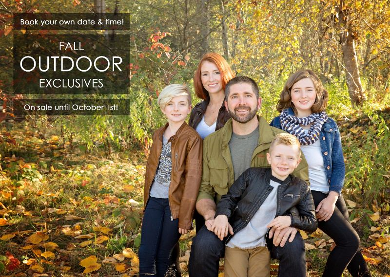 Surrey Family Photographer | Fall Exclusives Open!