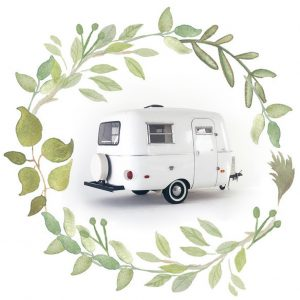 white camper van boho mini sessions in surrey
